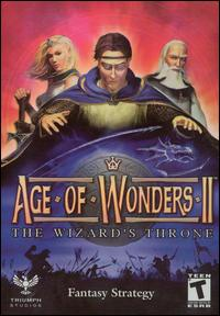 Caratula de Age of Wonders II: The Wizard's Throne para PC