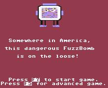 Pantallazo de Agent USA para Commodore 64