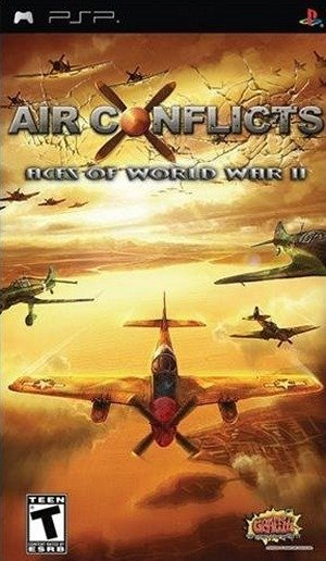 Caratula de Air Conflicts: Aces of World War II para PSP