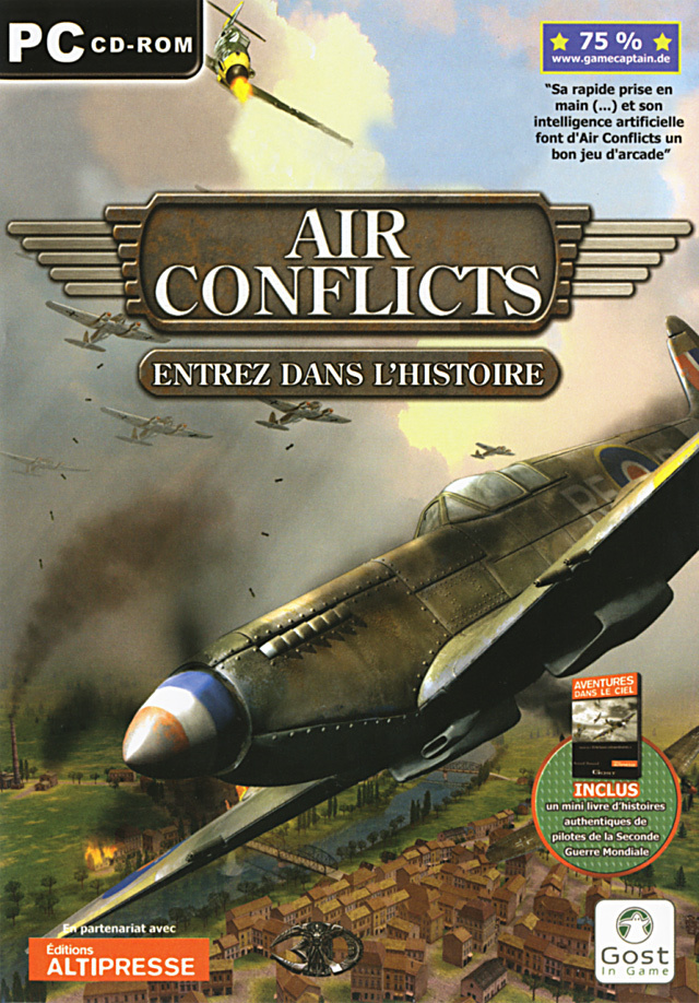 Caratula de Air Conflicts para PC