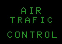 Pantallazo de Air Traffic Control para MSX