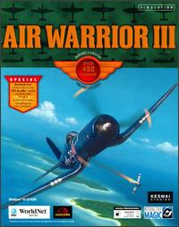 Caratula de Air Warrior III para PC