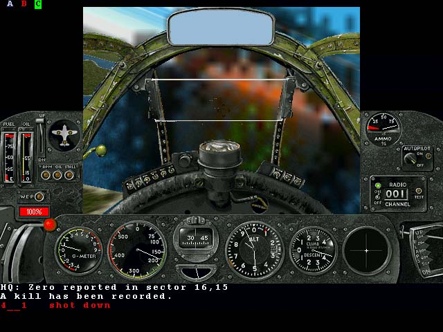 Pantallazo de Air Warrior III para PC