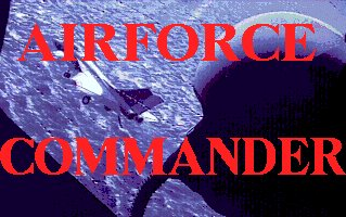 Pantallazo de AirForce Commander para Amiga