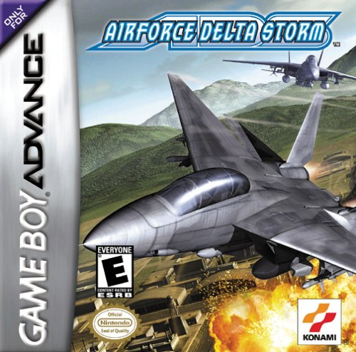 Caratula de AirForce Delta Storm para Game Boy Advance
