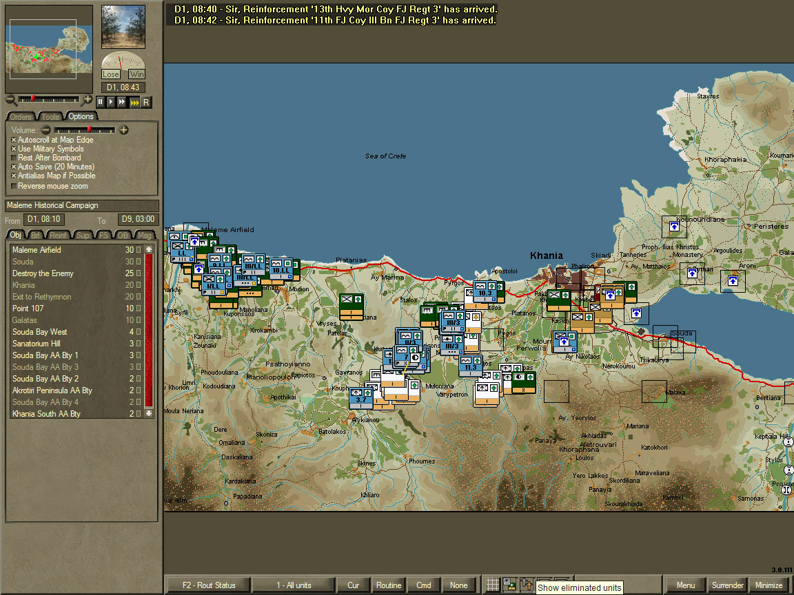 Pantallazo de Airborne Assault: Conquest Of The Aegean para PC