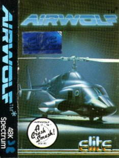 Caratula de Airwolf para Spectrum