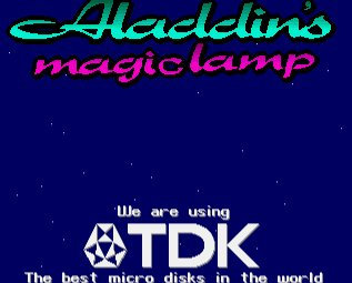 Pantallazo de Aladdin's Magic Lamp para Amiga