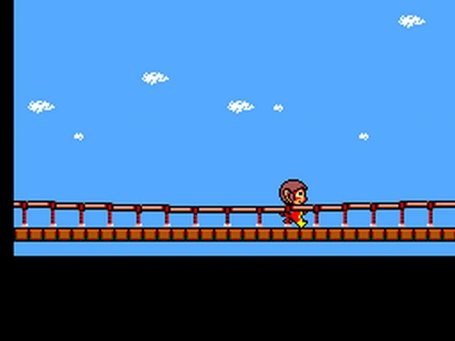 Pantallazo de Alex Kidd: High-Tech World para Sega Master System