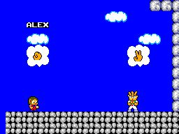 Pantallazo de Alex Kidd in Miracle World para Sega Master System