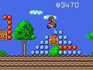Pantallazo de Alex Kidd in the Enchanted Castle (Consola Virtual) para Wii