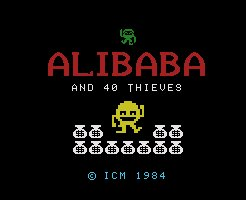 Pantallazo de Alibaba and 40 Thieves para MSX