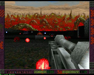 Pantallazo de Alien Breed 3D II: The Killing Grounds para Amiga