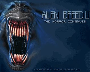 Pantallazo de Alien Breed II: The Horror Continues para Amiga