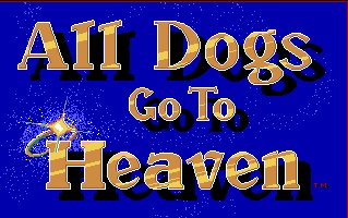 Pantallazo de All Dogs Go To Heaven para Amiga