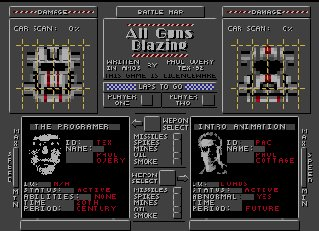 Pantallazo de All Guns Blazing para Amiga