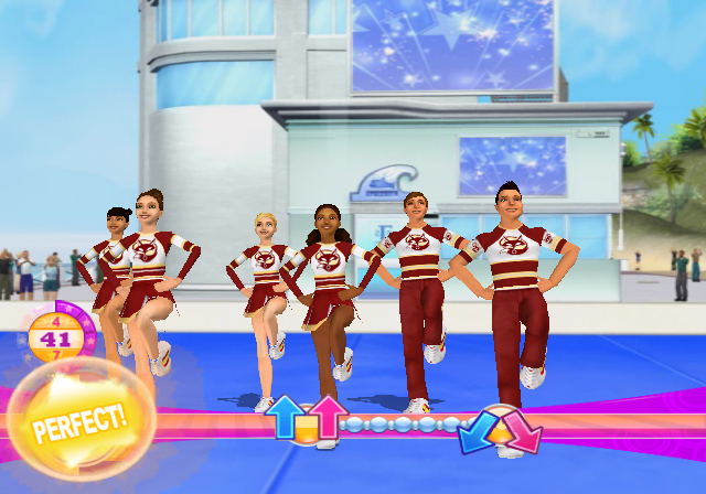 Pantallazo de All Star Cheerleader para Wii