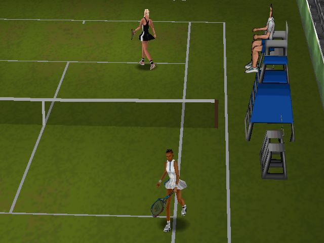 Pantallazo de All Star Tennis 99 para Nintendo 64