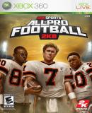Caratula nº 115080 de All-Pro Football 2K8 (520 x 737)