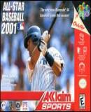 Caratula nº 33662 de All-Star Baseball 2001 (200 x 136)