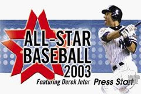 Pantallazo de All-Star Baseball 2003 para Game Boy Advance