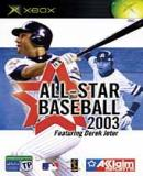 Caratula nº 104497 de All-Star Baseball 2003 (170 x 238)