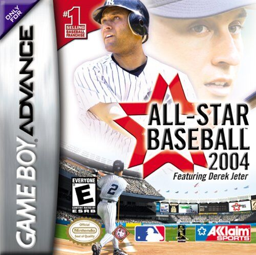 Caratula de All-Star Baseball 2004 para Game Boy Advance