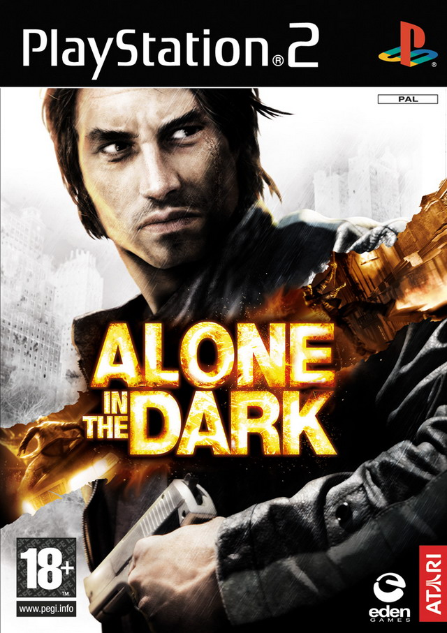 Caratula de Alone in the Dark (2008) para PlayStation 2