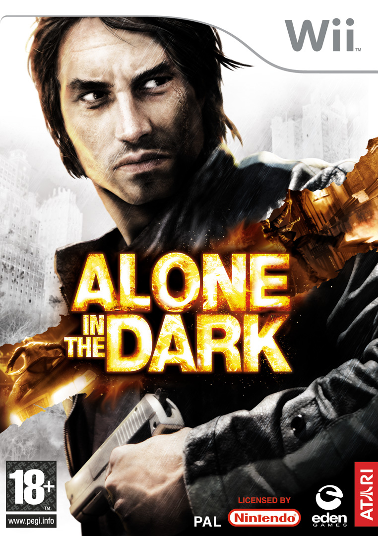 Alone in the Dark (2008) (Caratula de Wii) a tamaño completo: 762 x