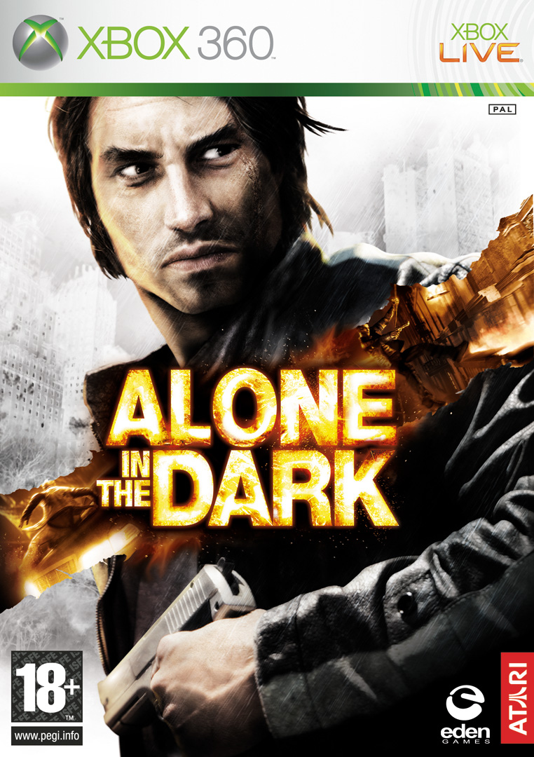 Caratula de Alone in the Dark (2008) para Xbox 360
