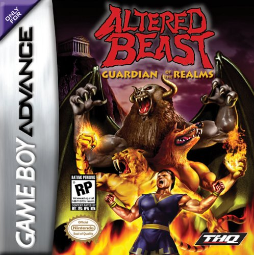 Caratula de Altered Beast: Guardian of the Realms para Game Boy Advance