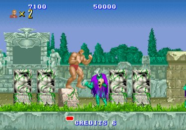 Pantallazo de Altered Beast (Consola Virtual) para Wii