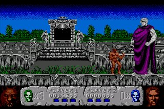 Pantallazo de Altered Beast para Amiga
