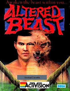 Caratula de Altered Beast para Amstrad CPC
