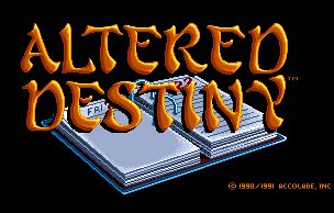 Pantallazo de Altered Destiny para Amiga