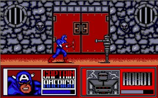 Pantallazo de Amazing Spider Man and Captain America in Dr. Doom's, The para Atari ST