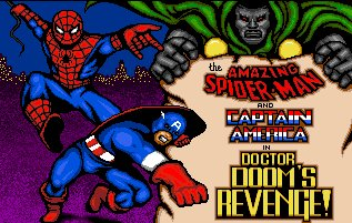 Pantallazo de Amazing Spider-Man And Captain America In Dr. Doom's Revenge!, The para Amiga