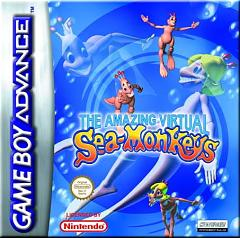 Caratula de Amazing Virtual Sea Monkeys, The para Game Boy Advance