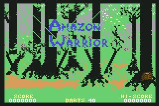 Pantallazo de Amazon Warrior para Commodore 64