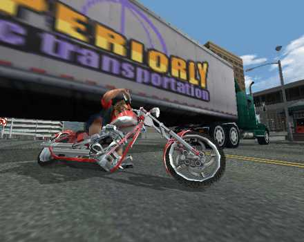 Pantallazo de American Chopper 2: Full Throttle para GameCube