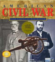 Caratula de American Civil War: From Sumter To Appomattox para PC