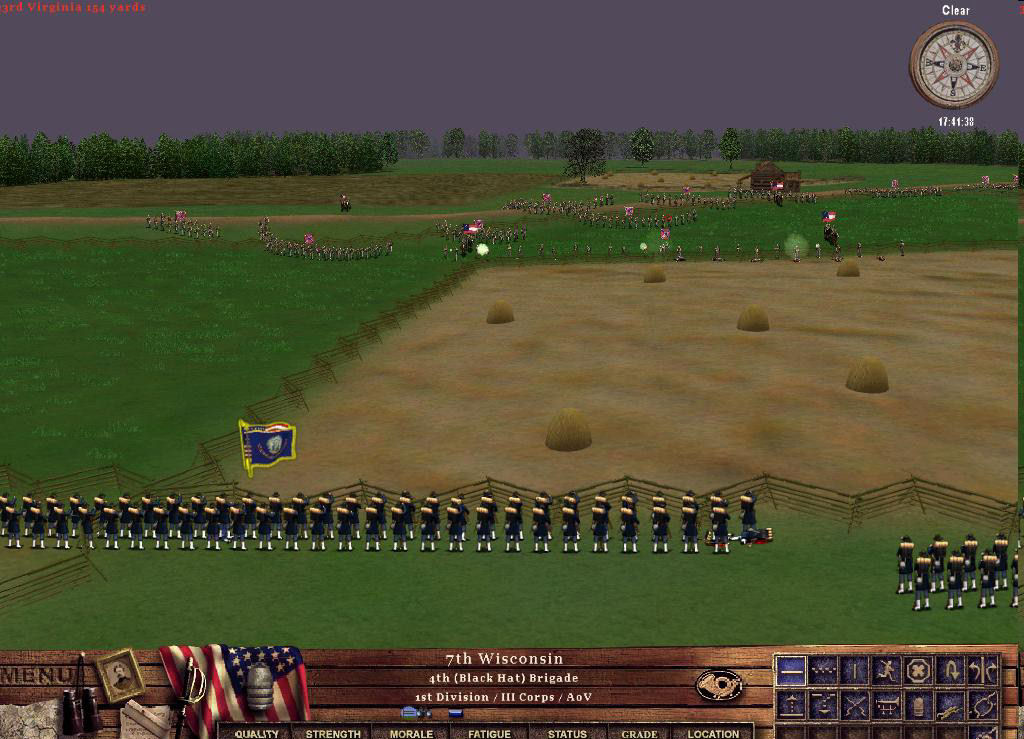 Pantallazo de American Civil War: Take Command -- Second Manassas para PC