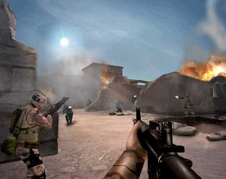 Pantallazo de America's Army: Rise of a Soldier para Xbox