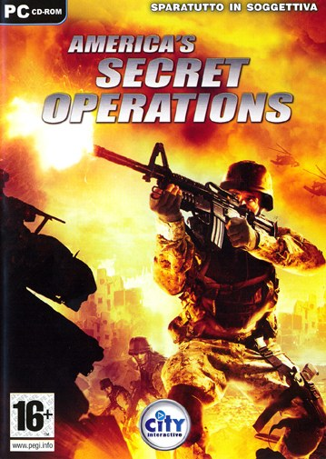 Caratula de America's Secret Operations para PC