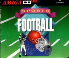 Caratula de Amiga CD Football para Amiga