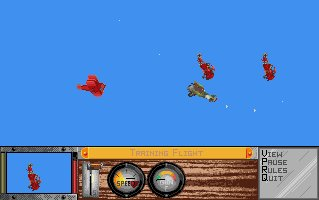 Pantallazo de Ancient Art Of War In The Skies, The para Amiga