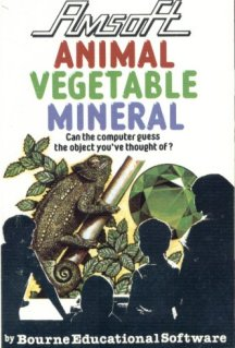 Caratula de Animal, Vegetable, Mineral para Amstrad CPC