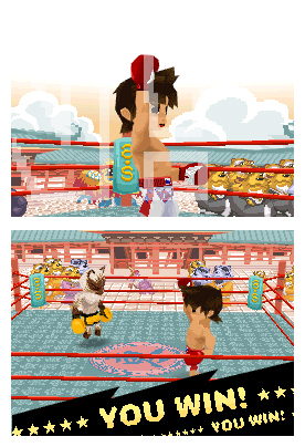 Pantallazo de Animal Boxing para Nintendo DS