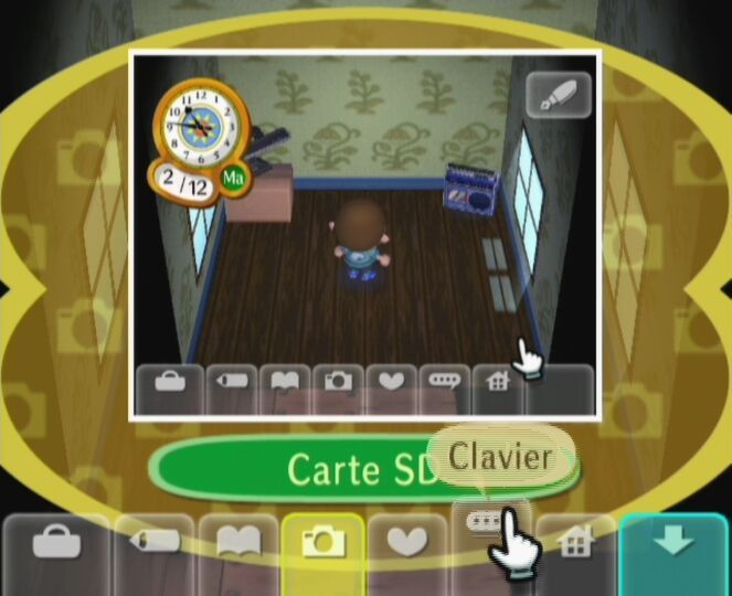 Pantallazo de Animal Crossing: Lets go to the City para Wii