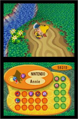 Pantallazo de Animal Crossing: Wild World para Nintendo DS